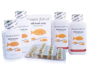 «Рыбий жир океанический 500мг. Рыбий жир океанический 1000мг »