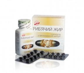 Риб'ячий жир з анчоусів у світлозахисній капсулі  500 мг